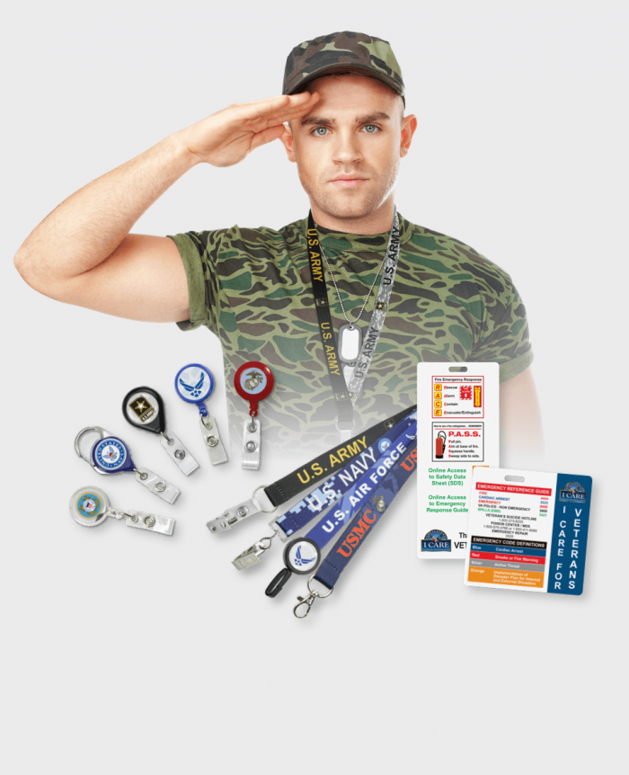 ID Products by Market Military